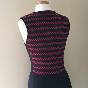 Pink Tartan Striped Dress